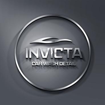 Invicta Car Wash Logo